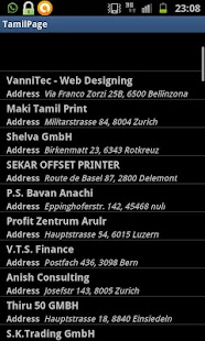 Tamil business Directory - screenshot thumbnail