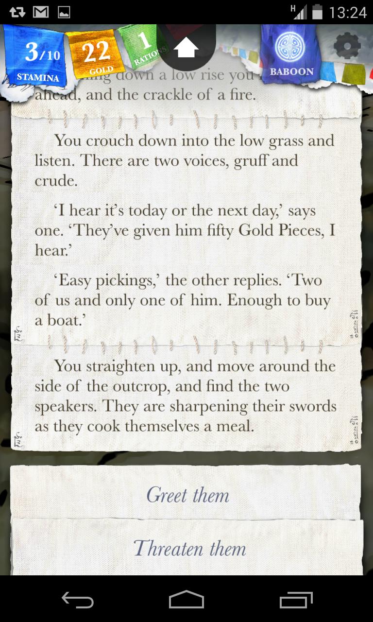Sorcery! screenshot #3
