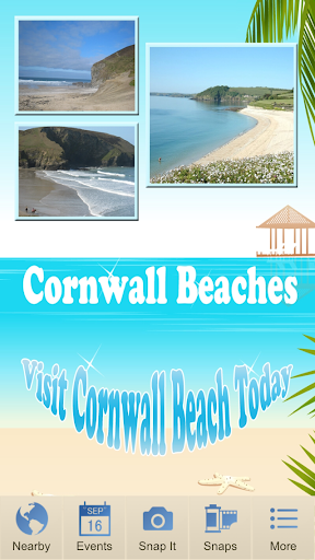 【免費旅遊App】Cornwall Beaches-APP點子