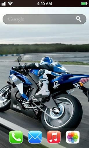瘋狂越野摩托車動態壁紙