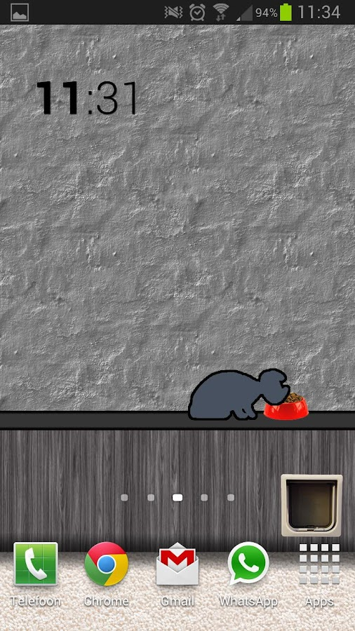 Animated Cat Live Wall Free- screenshot