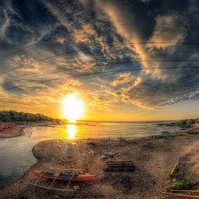 SUNSET BEACH by Chase Alog - Landscapes Sunsets & Sunrises