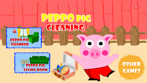 Peppo Pig toys clean