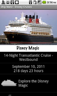 Ship Mate - Disney Cruise Line - screenshot thumbnail
