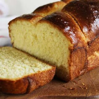 Buttery Brioche Bread.