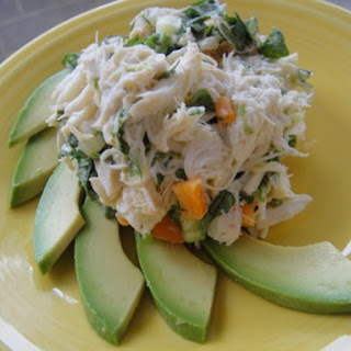 Crab Salad with Lime and Avocado.