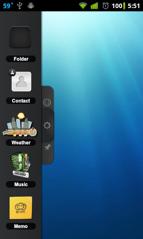 TSF Notepad Widget - screenshot