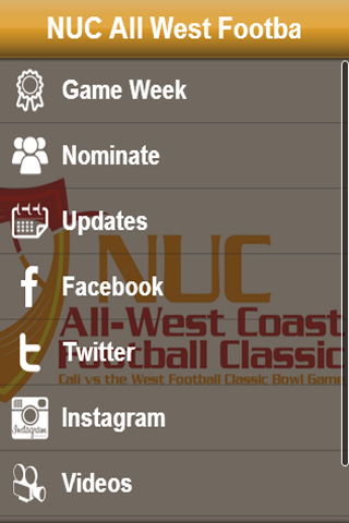 NUC All West Football Game