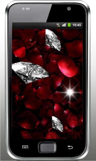 Diamond Falling live wallpaper