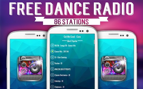 Free Dance Radio- screenshot thumbnail