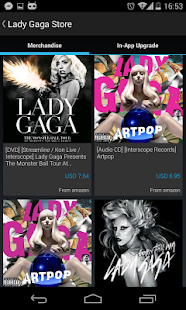 Lady Gaga (POP) Club - screenshot thumbnail