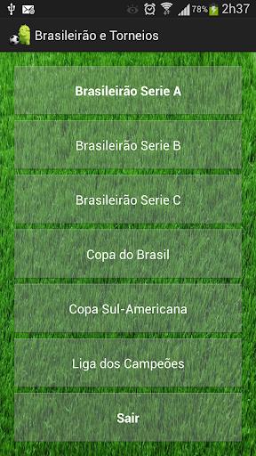 Brasileirão e Torneios