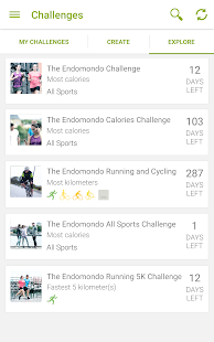 Endomondo Running Cycling Walk - screenshot thumbnail
