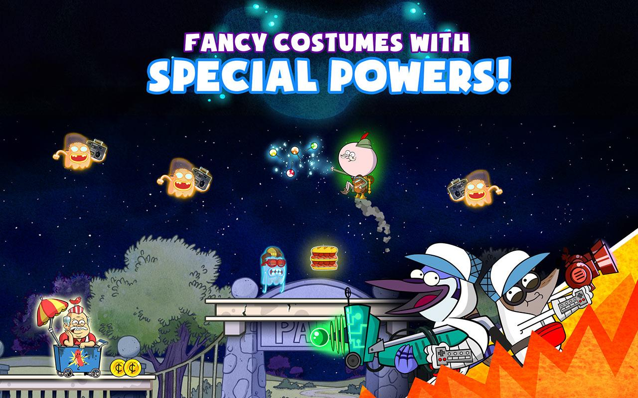 Ghost Toasters - Regular Show screenshot #8