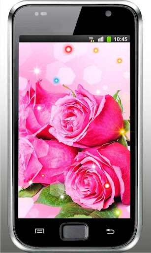 Pink Roses Free live wallpaper
