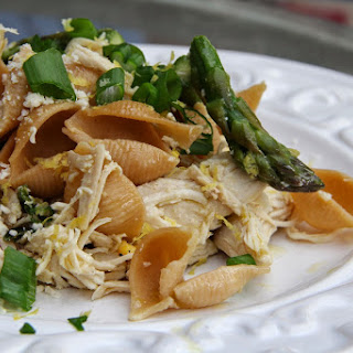 Lemon & Asparagus Chicken Pasta