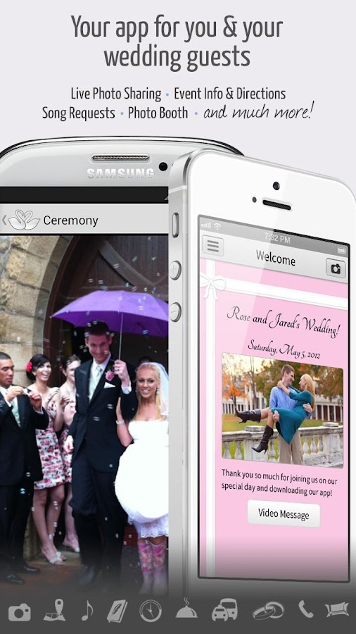 Married App for your wedding - screenshot