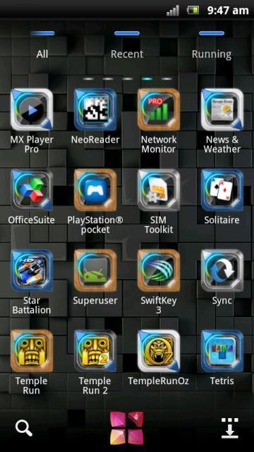 Next Style Go Launcher Theme - screenshot