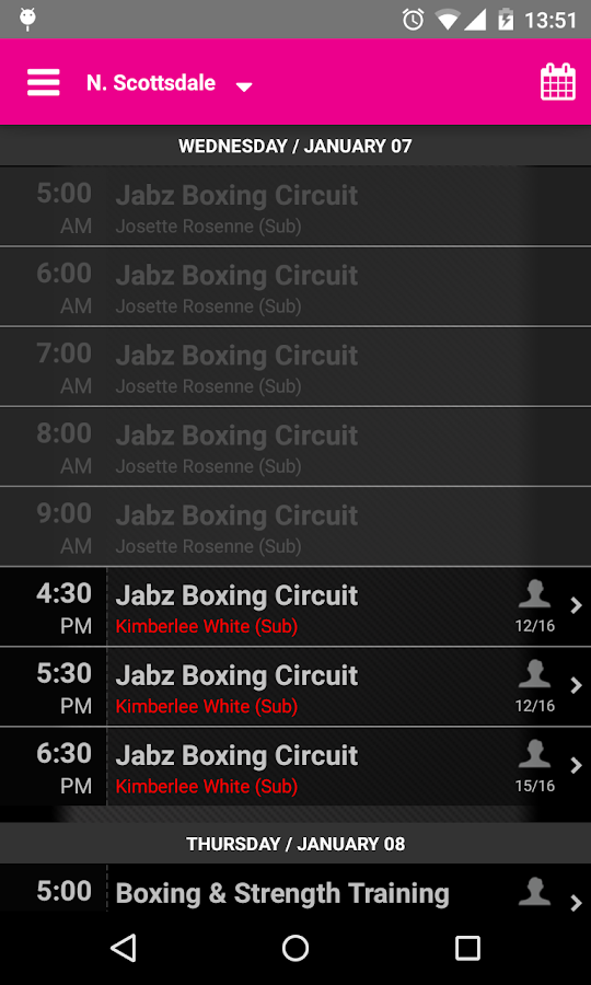 Jabz Boxing- screenshot