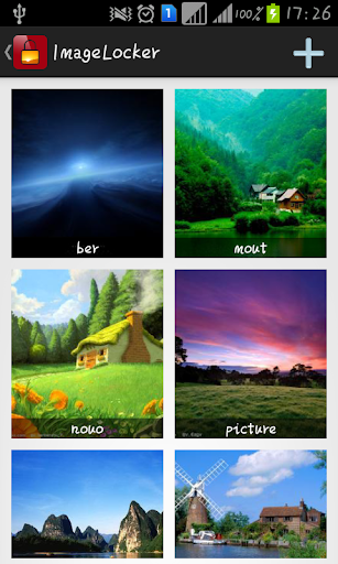 X Image Hider Lock photos