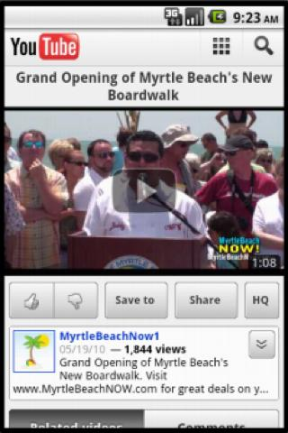 Myrtle Beach Boardwalk - screenshot