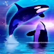 Pretty Whales Live Wallpaper