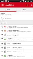 Screenshot of Navi S-Bahn Stuttgart