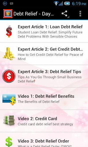 Debt Relief Guide