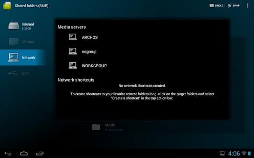 Archos File Manager - screenshot thumbnail