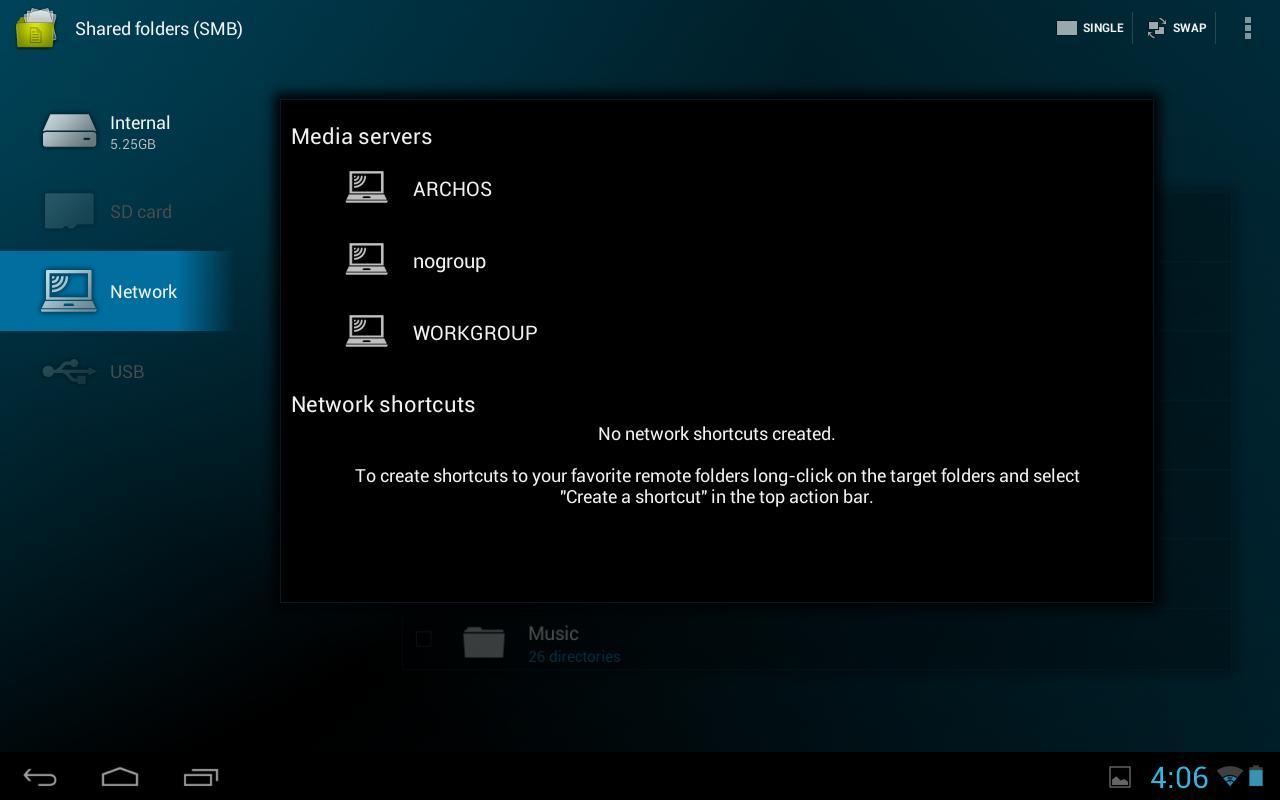 Archos File Manager - screenshot