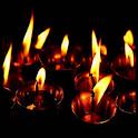 flashlight and candlelight icon
