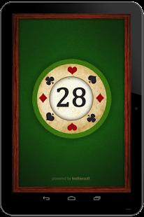 28 Card Game Twenty Eight