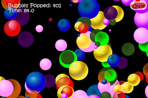 Pop the Bubbles.