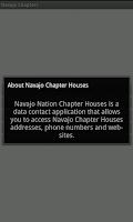 Screenshot of Navajo Chapter Houses: Tablets