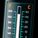 Thermometer 10 styles icon