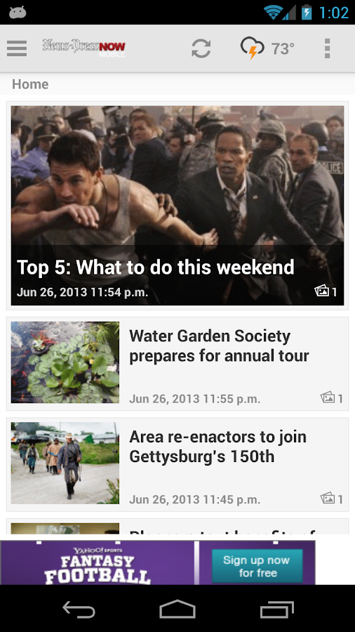 Newspressnow.com - screenshot