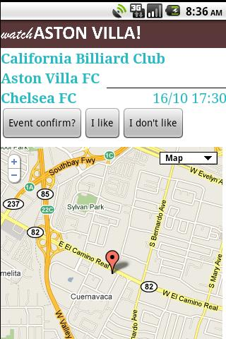 Watch Aston Villa ! - screenshot