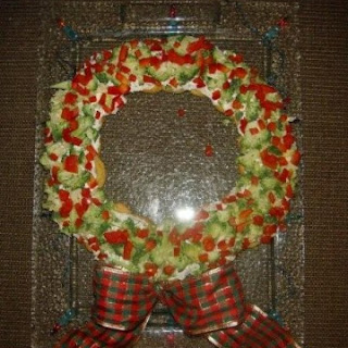 Appetizer Wreath