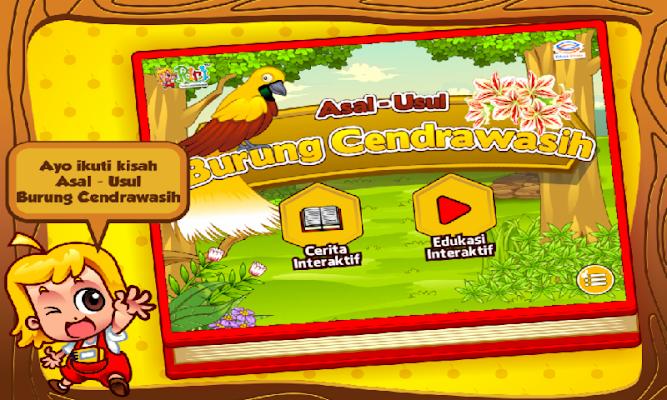 Cerita Anak: Burung Cendrawasih - screenshot