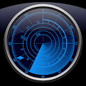 Radar Clock LWP Navy logo