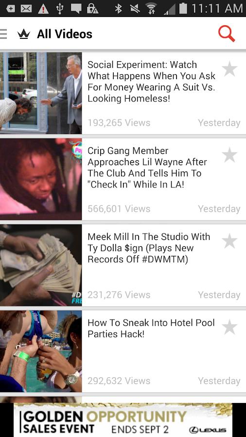 Worldstar Hip Hop (Official) - screenshot