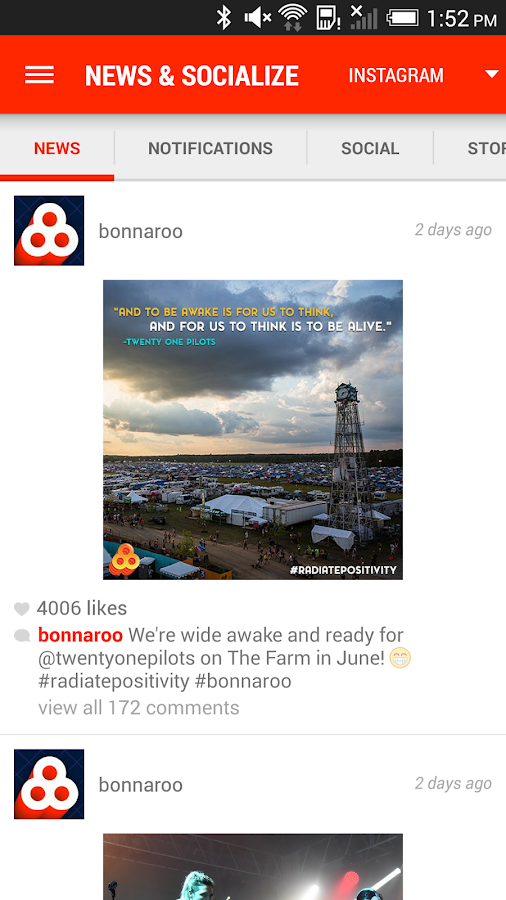 Bonnaroo - screenshot