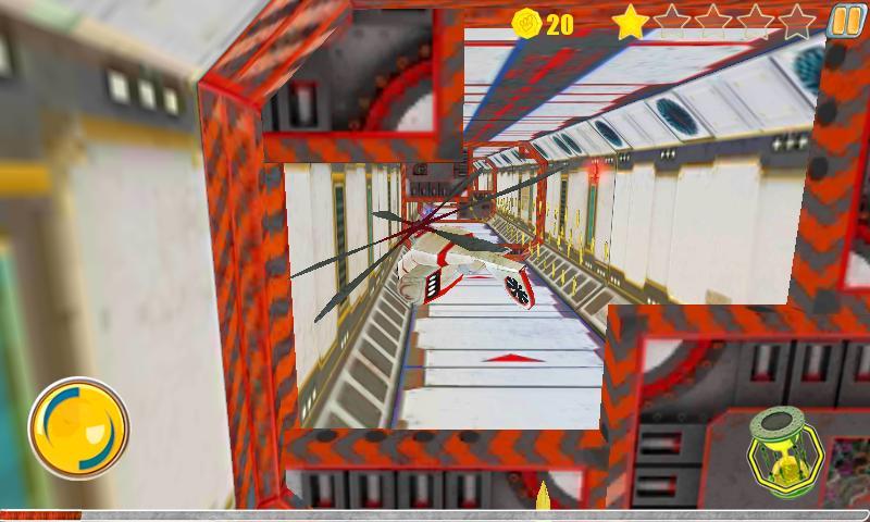Corridor Fly- screenshot
