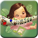 Cute Kids SMS Ringtones icon