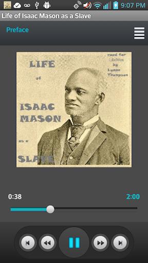 Life of Isaac Mason as a Slave