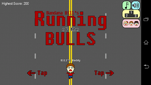 Bills Running of the Bulls