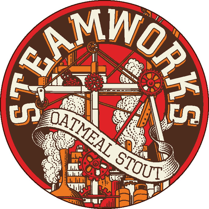 Logo of Steamworks Oatmeal Stout