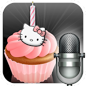 send Hello Kitty cakes + voice