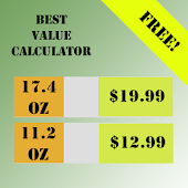 Free Best Value Calculator