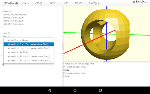 Scadwalk 3d cad android apps on google play Simple 3d modeling online
